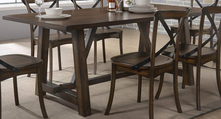 Kaelyn Dining Table - Dark Oak