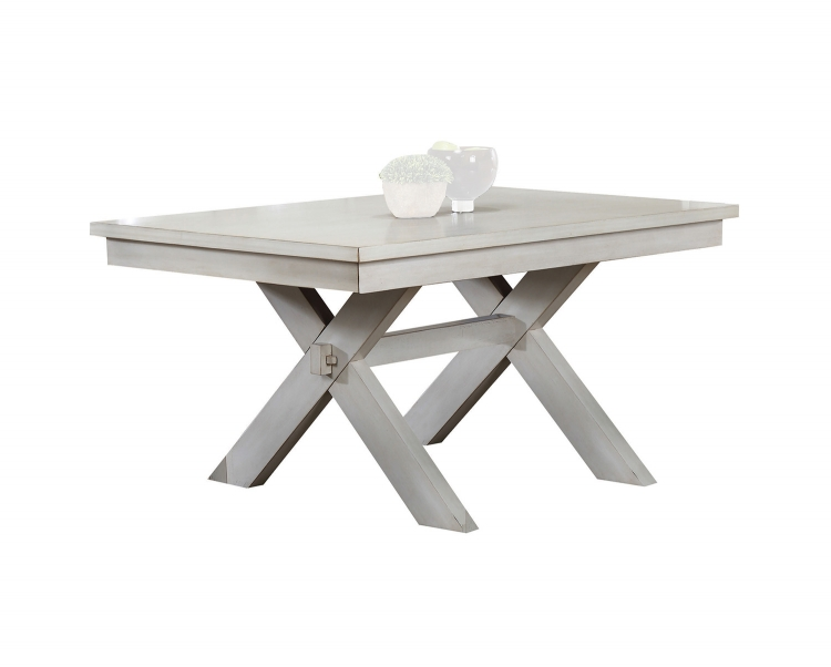 Apollo Dining Table - Antique White