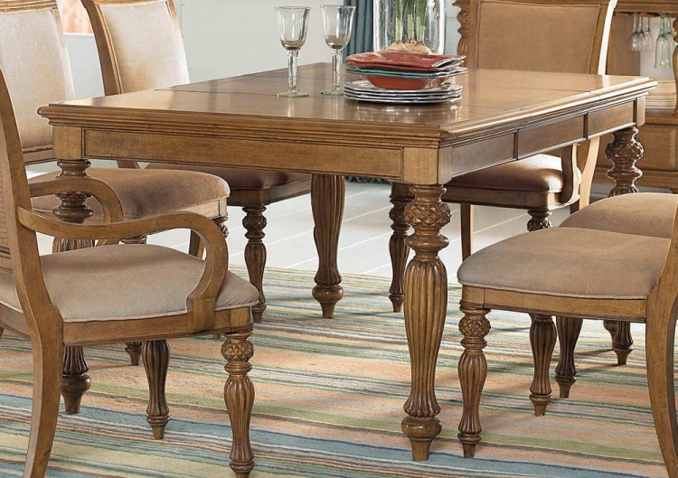 Grand Isle Rectangular Leg Table
