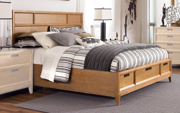 Sedona Storage Panel Bed