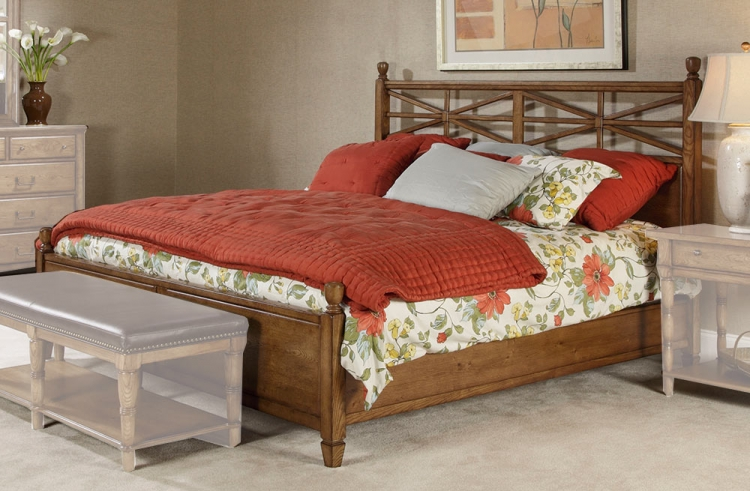 Americana Home Arbor Gate Low Poster Bed