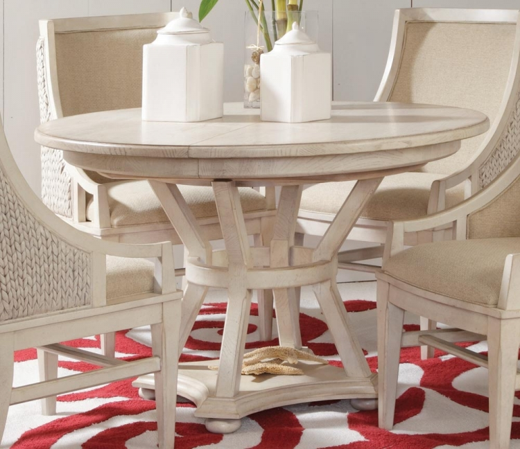 Americana Home Artisan's Round Table - Weather White