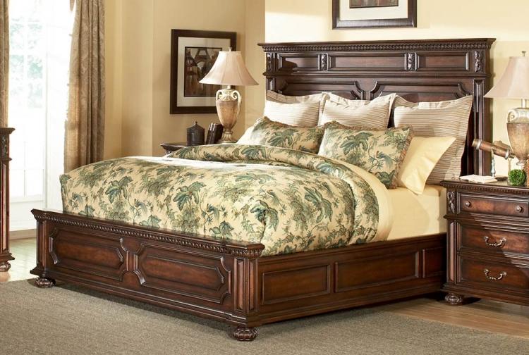 Barrington House Panel Bed