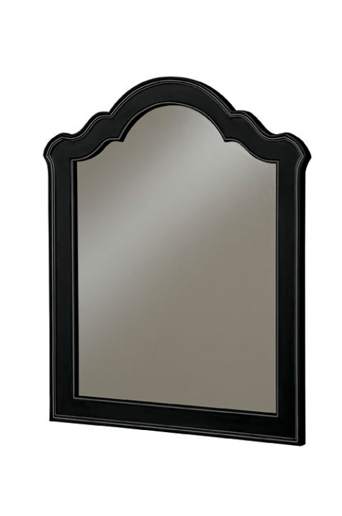 Retreat Vertical Mirror - Black