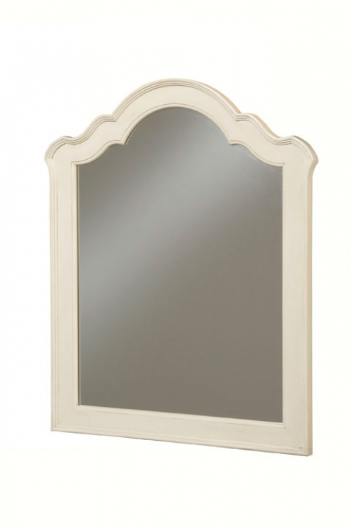 Retreat Vertical Mirror - Antique White