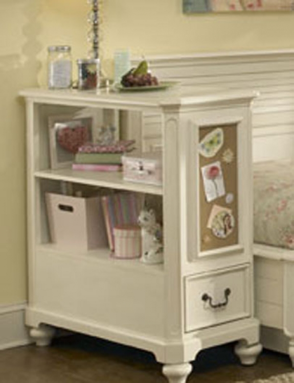 Retreat Bookcase Nightstand - Antique White