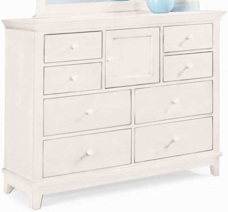 Sterling Pointe Dressing Chest White