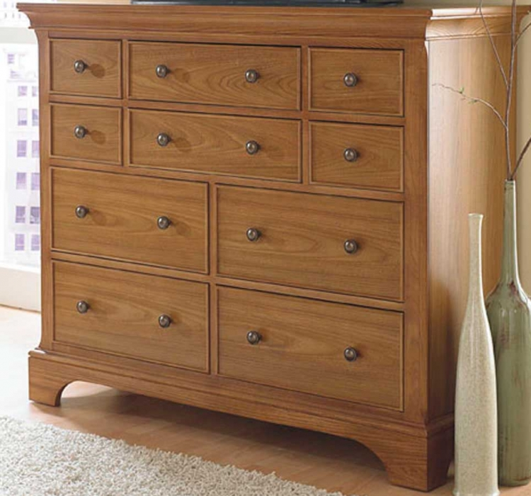 Ashby Park Nutmeg Dressing Chest/Entertainment
