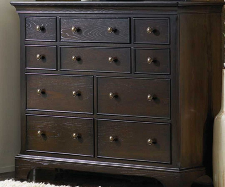 Ashby Park Peppercorn Dressing Chest/Entertainment
