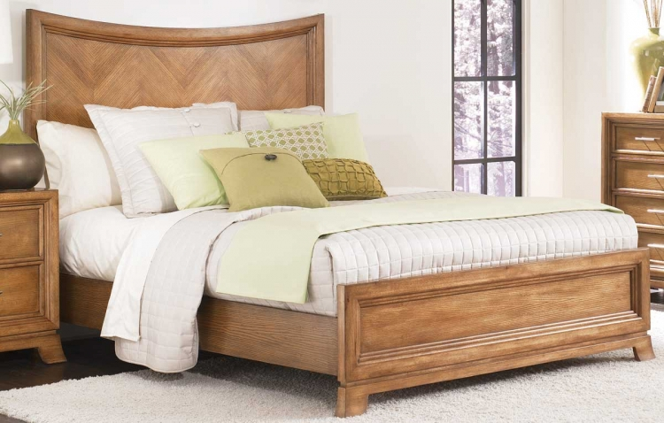 Chalice Arched Panel Bed