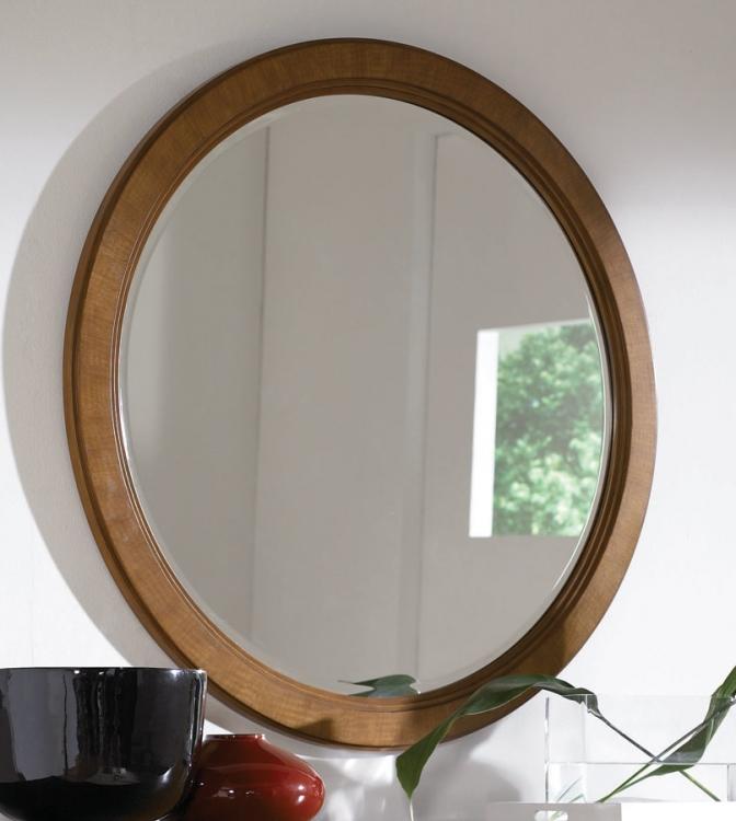 Preface Round Mirror