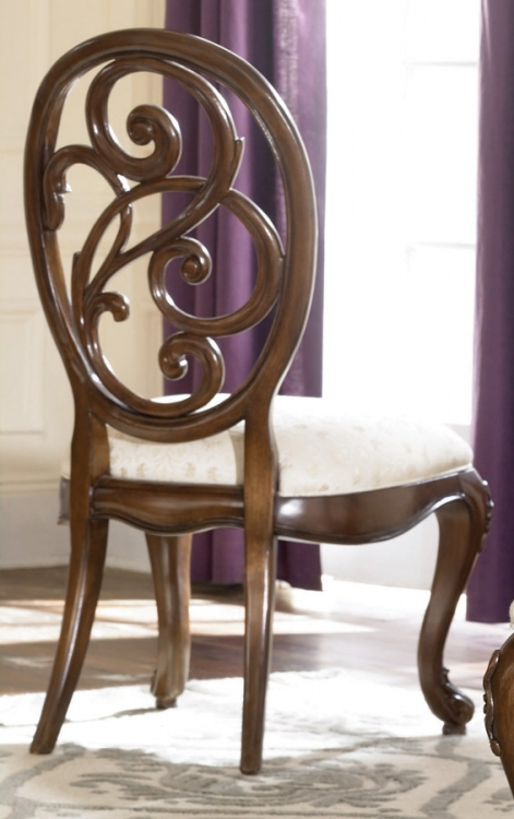 Jessica McClintock Couture Splat Back Side Chair