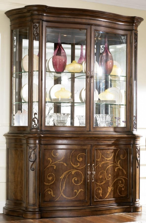 Jessica McClintock Couture Palladian China Cabinet