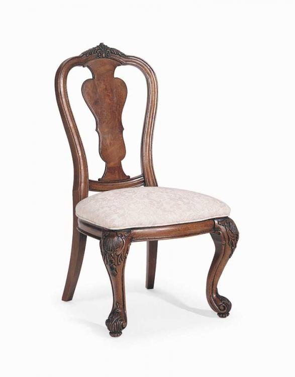 Grand Revival Dark Splat Back Side Chair
