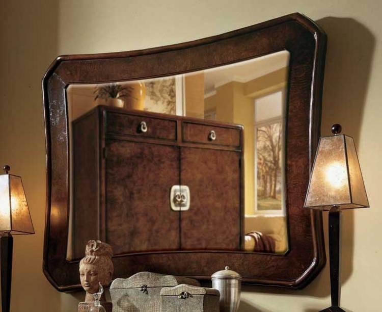 American Drew Tansu Landscape Mirror