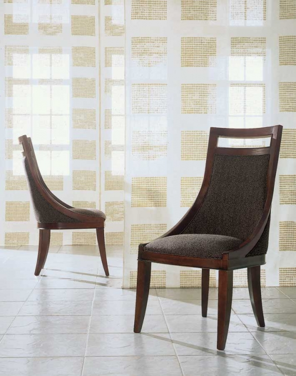 Tansu Upholstered Back Side Chair