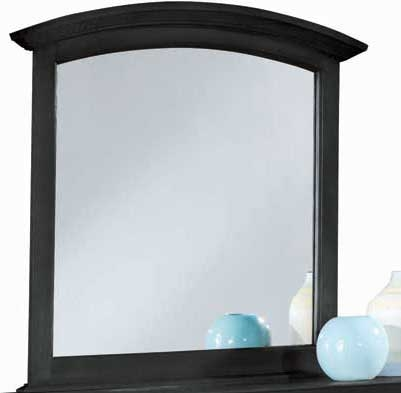 Sterling Pointe Vertical Mirror Black