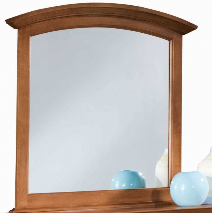 Sterling Pointe Vertical Mirror Cherry