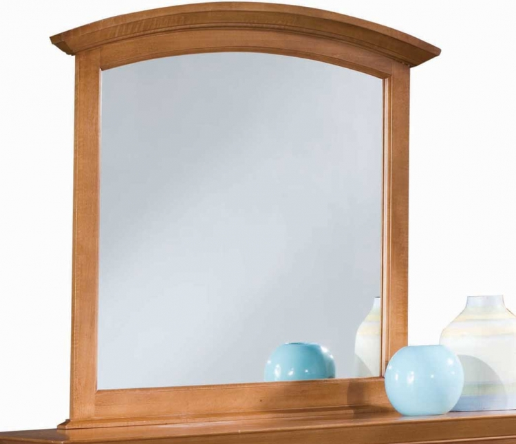 Sterling Pointe Vertical Mirror Maple