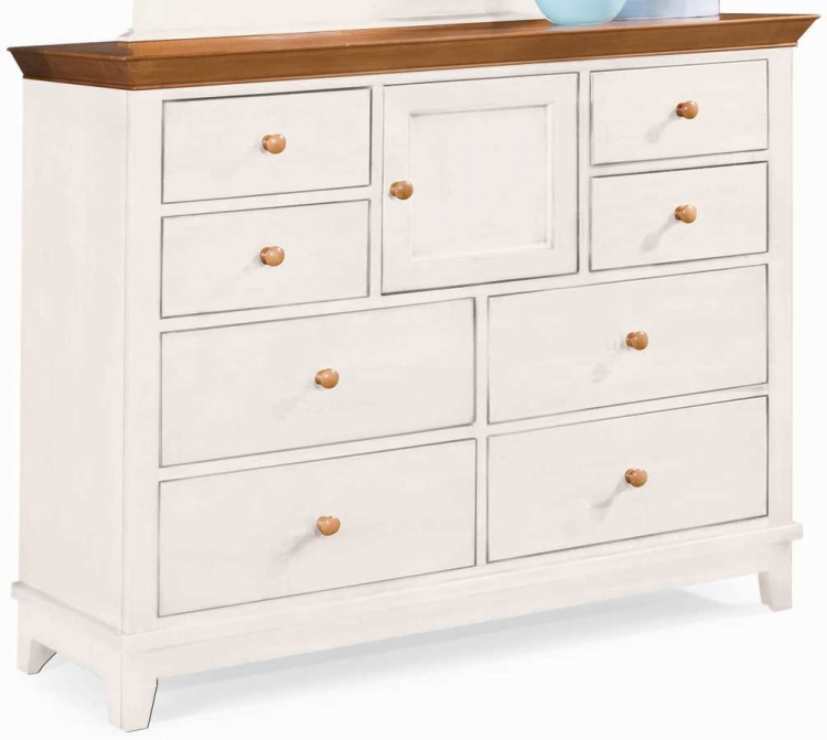 Sterling Pointe Dressing Chest White Maple