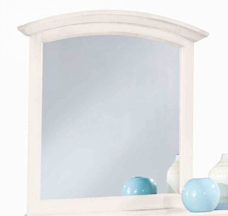 Sterling Pointe Vertical Mirror White