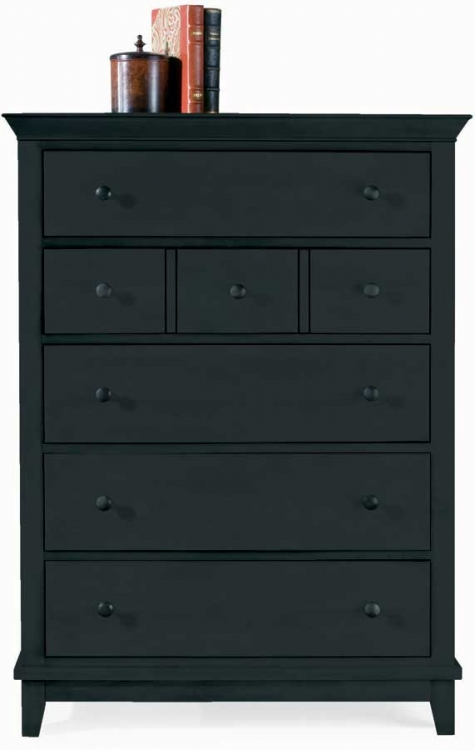 Sterling Pointe Drawer Chest Black