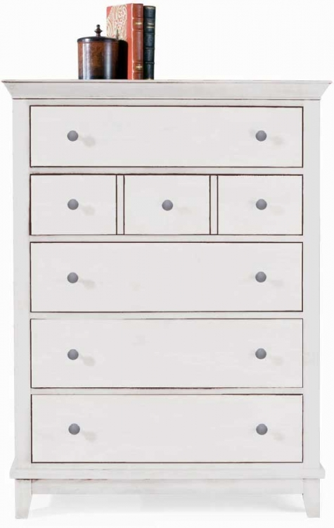 Sterling Pointe Drawer Chest White