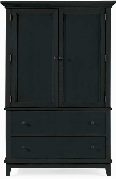 Sterling Pointe Door Chest Black