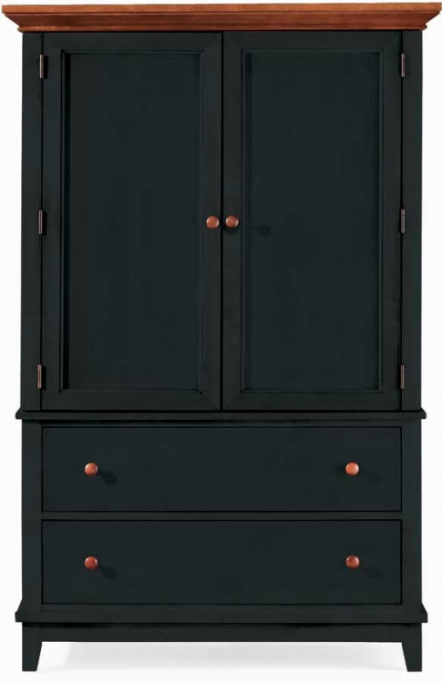 Sterling Pointe Door Chest Black Cherry