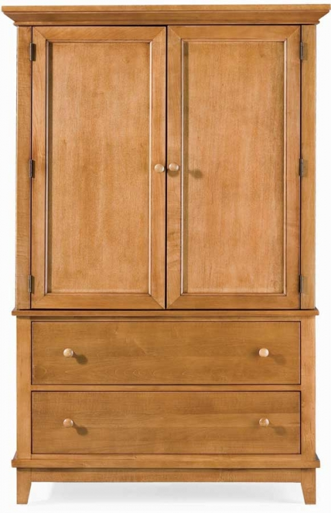 Sterling Pointe Door Chest Maple