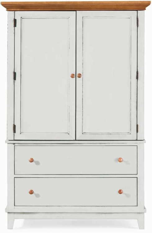 Sterling Pointe Door Chest White Maple