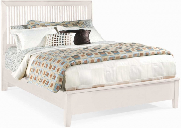 Sterling Pointe Slat Bed White