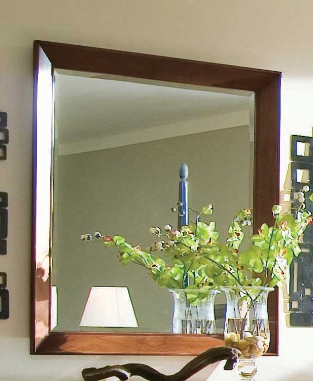 Sterling Pointe Landscape Mirror Black