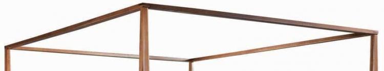 Sterling Pointe Canopy Frame Cherry