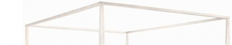 Sterling Pointe Canopy Frame White