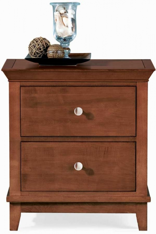 Sterling Pointe 2 Drawer Night Stand Cherry