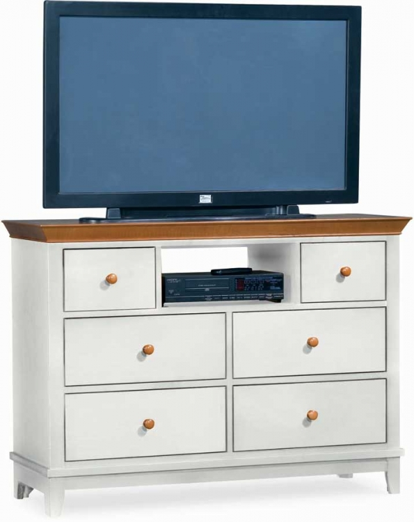 Sterling Pointe Entertainment Center White Maple