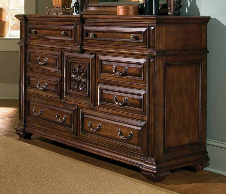 Marbella Dressing Chest with Stone Inserts