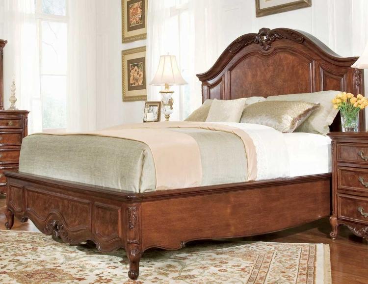 American Drew Bordeaux Mansion Platform Bed