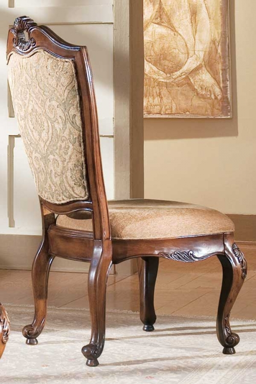 Bordeaux Upholstered Back Side Chair
