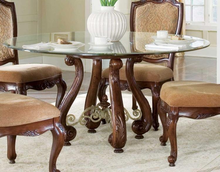 American Drew Bordeaux Round Table