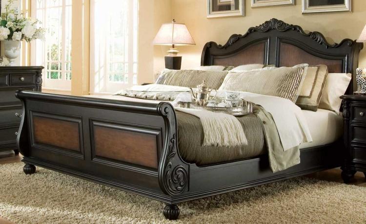 Versailles Sleigh Bed
