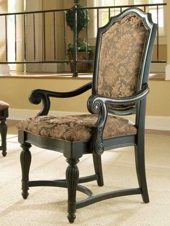 Versailles Upholstered Back Arm Chair