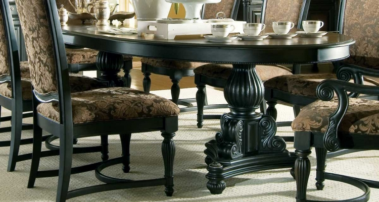 American Drew Versailles Trestle Table