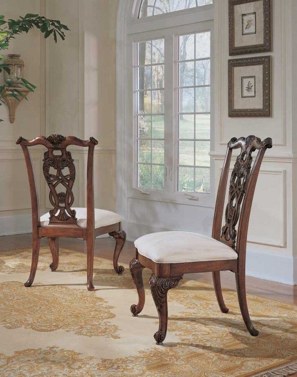 Wentworth Manor Pierced Back Side Chair
