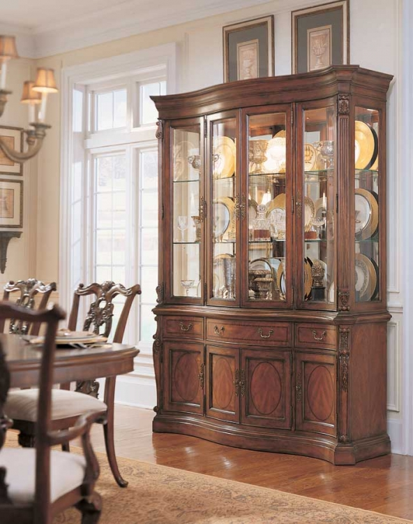 American Drew Wentworth Manor China Cabinet