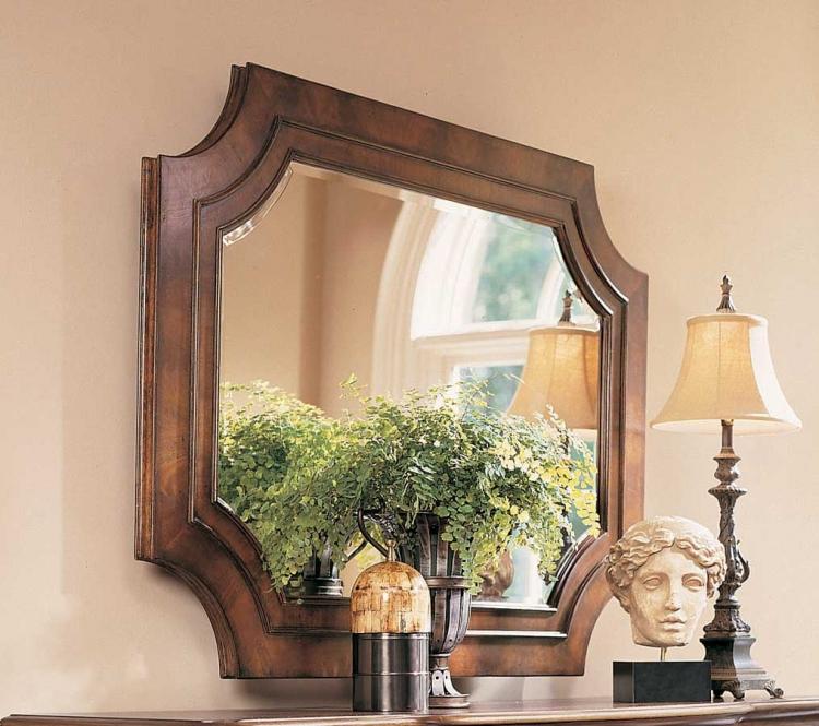 American Drew Bob Mackie Home Classics Rectangular Landscape Mirror