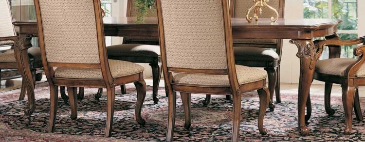 Bob Mackie Home Classics Rectangular Leg Table