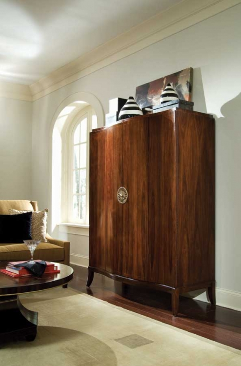 Bob Mackie Home-Signature Serpentine Armoire
