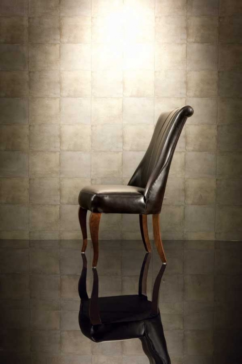 Bob Mackie Home-Signature Leather Uph-Side Chair